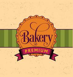 Bakery design poster vector