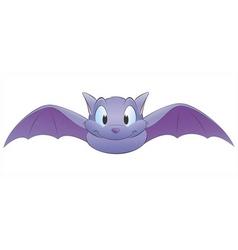 cartoon bat vector image vector image
