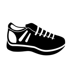 tennis shoes isolated icon vector image vector image