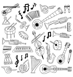 Jazz - doodles vector