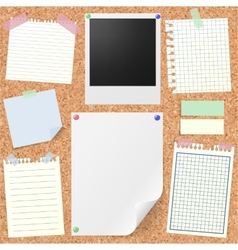 Post-it set vector