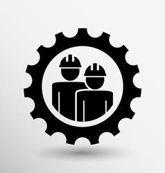 Mechanics working icon button logo symbol concept vector image