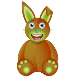 Bunny toy vector image