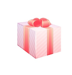 illstration of gift box vector image vector image