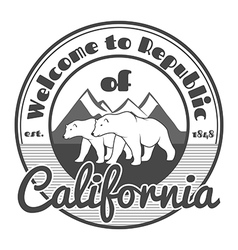 California vector