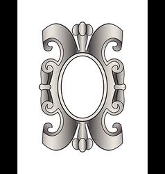 Vintage border frame labels design element page de vector