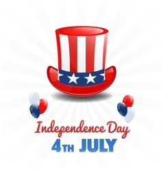 American independence day 4th of july usa holiday vector