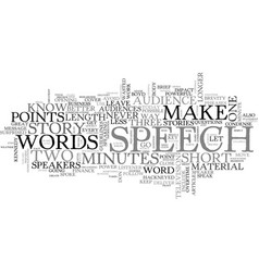 Be brief text word cloud concept vector