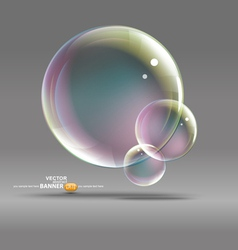 bubble graphic vector image