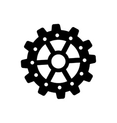 gear cog wheel vector image vector image