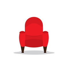 Single Cinema Seat vector image