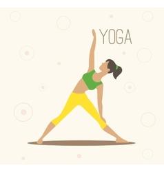 Yoga surya namaskara yoga vector