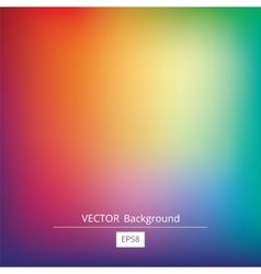 Gradient colorful background vector