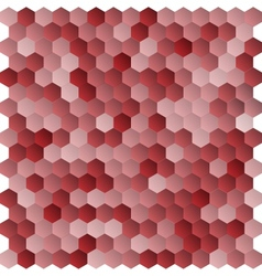 Seamless abstract hexagon background vector image