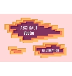 Abstract Pixel layering vector image