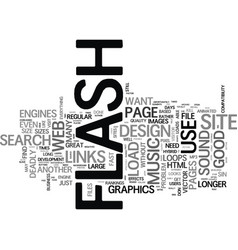 Flash deadly sins that can kill your web business vector