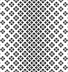 Monochrome repeating geometric pattern vector