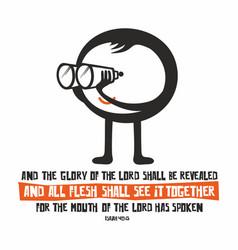 christian print and bible vector image vector image