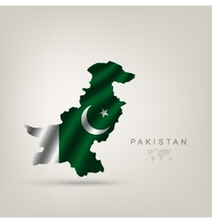 Flag of Pakistan as a country vector image vector image