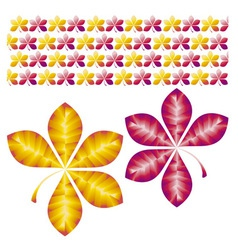flower design vector image