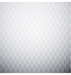 White textured honeycomb background vector