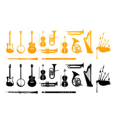 Orchestra musical instrument vector