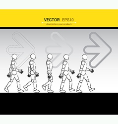 Walking vector
