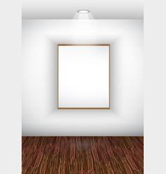 elegant showroom vector image