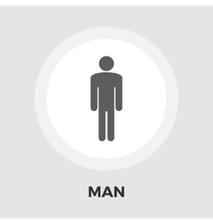 Male gender icon flat vector