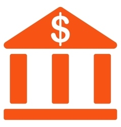 Bank icon from Business Bicolor Set vector image