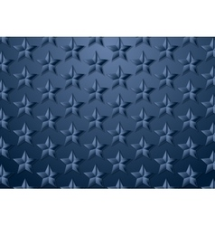 Blue stars corporate texture background vector image vector image