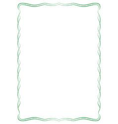 Simple frame vector