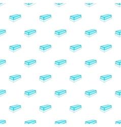 Tomb pattern cartoon style vector