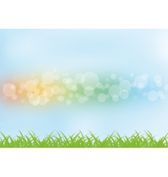 Colorful summer background vector