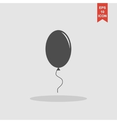 Balloon sign icon vector