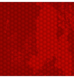 Grunge Red Background vector image vector image