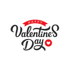 Hand drawn lettering for valentines day vector