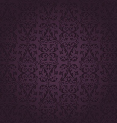 seamless rich background in Renaissance style vector image