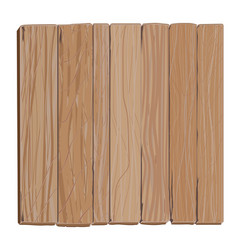 wooden board cartoon vector image