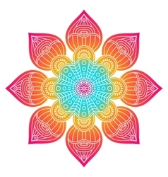 indian Mandala vector image
