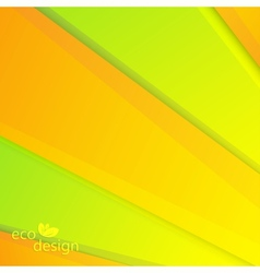 Colorful eco background can be used for vector
