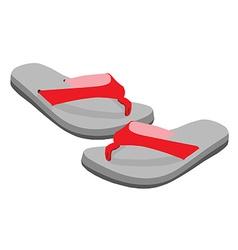 Flip flop pair vector image