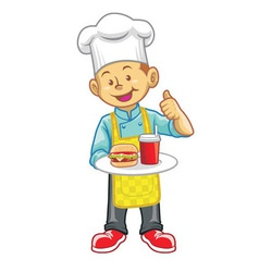 little chef vector image vector image