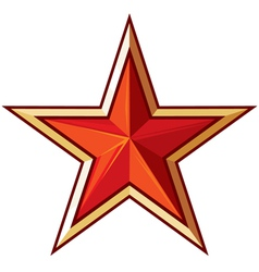 Soviet star vector image vector image