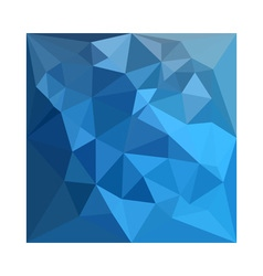 Cornflower Blue Abstract Low Polygon Background vector image
