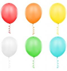 balloons singles vector image