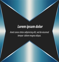 Blue abstract layout background and design vector