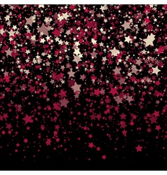Background with stars design template abstract vector