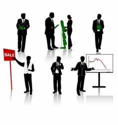 businesspeople vector image vector image