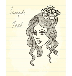 Paper drawing vector